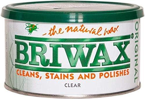 Briwax Clear Furniture Wax Polish New 2021 cheap Version Award-winning store