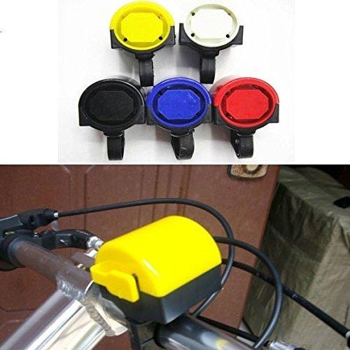 LHGS Bicicleta Electrónica Bicicleta Ciclismo Luz Alarma Timbre Batería 2X Alimentado por...