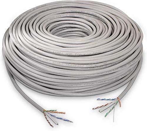 Cable de Red Cat 6, U/UTP, Gris - CU, AWG 24 sólido