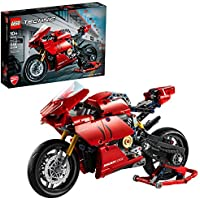 LEGO Technic Ducati Panigale V4 R Motorcycle Toy Building Kit (646 Pieces)