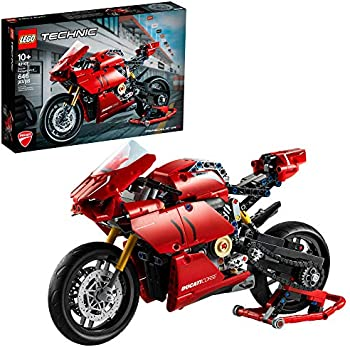 LEGO Technic Ducati Panigale V4 R Motorcycle Toy Building Kit