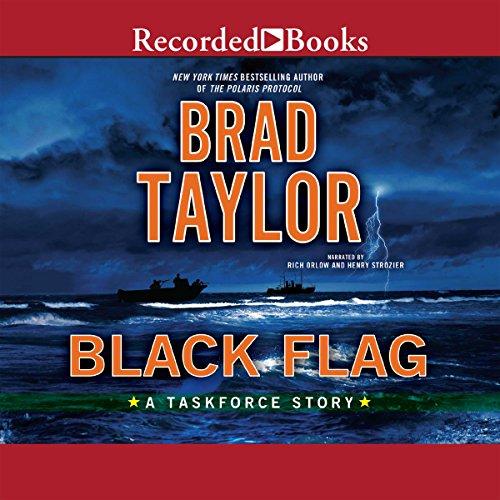Black Flag audiobook cover art