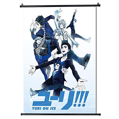 YURI!!! on ICE Japan Anime Poster di scorrimento Formato 30x45cm (12 x 18 in)