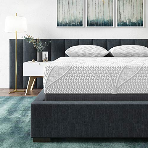 Classic Brands Cool Gel 2.0 Ultimate Gel Memory Foam 14-Inch Mattress with BONUS 2 Pillows, California King