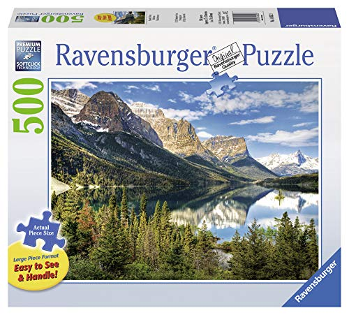 Ravensburger Beautiful Vista Large Format 500 Piece Jigsaw Puzzle for Adults – Every Piece is Unique, Softclick Technology Means Pieces Fit Together Perfectly