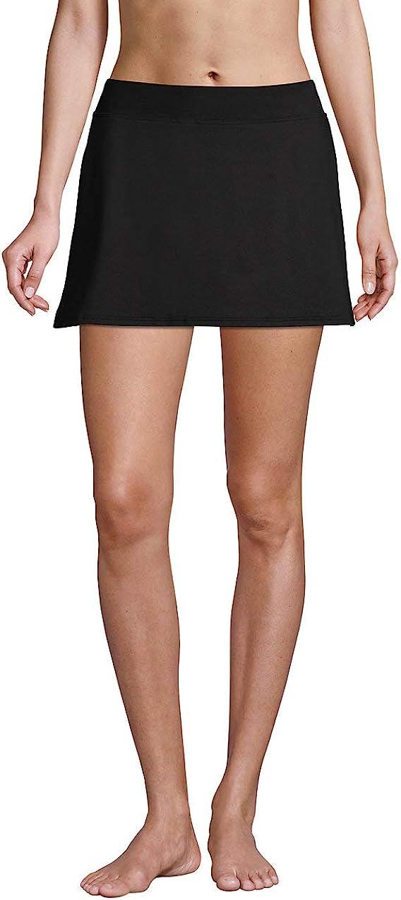 Lands' End Women's Tummy Control Skirt Swim Bottoms