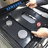 Stove Protector Liners Compatible with Samsung Stoves, Samsung Gas Ranges - Customized - Easy Cleaning Liners for Samsung Compatible Model NX58H5600SS