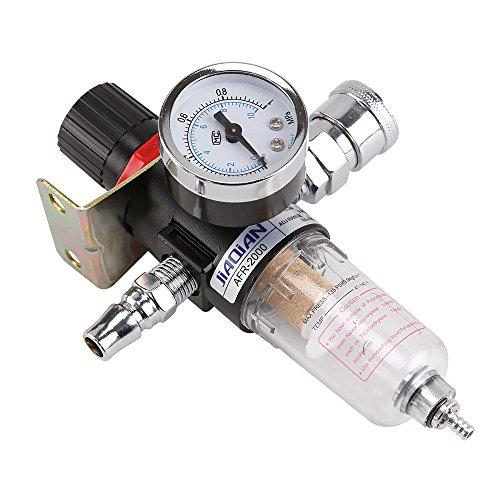 Allright Druckluftregler Mit Wasserabscheider Druckminderer Druckminderungsventil Reduzierventil Kompressor Wasser Abscheider