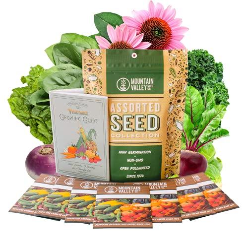 Fall Garden Heirloom Vegetable Seeds - ~3,800+ Seeds, 7 Varieties...
