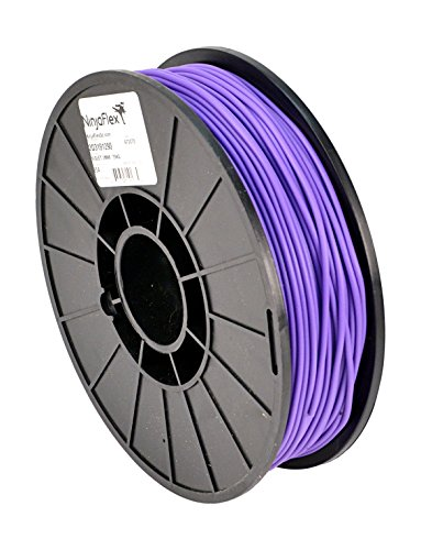 Aleph Objects Inc - Filamento per stampante 3D NinjaFlex, TPE, 3 mm, bobina da 0,75 kg, colore: oro.75kg, Violetto, 12