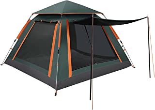 4 Person Pop Up Camping Tent Outdoor Instant Shelter Family Hiking Tent Beach Shade Waterproof Portable Tent