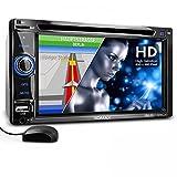 XOMAX XM-2DTSBN6220BT Autoradio con navigatore GPS con cartografia europea + Funzione vivavoce...