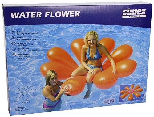 Simex Sport, Gonfiabile Water Flower, Arancione (Orange)