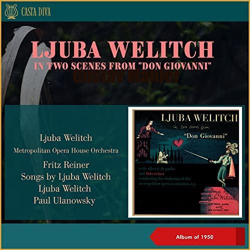 Ljuba Welitch, Alessio De Paolis, Metropolitan Opera House Orchestra, Fritz Reiner & Paul Ulanowsky