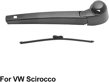 SLONGK Brazo Trasero Y Limpiaparabrisas Trasero, para Volkswagen Scirocco