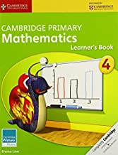By Emma Low - Cambridge Primary Mathematics Stage 4 Learner's Book (Cambridge I (2014-08-05) [Paperback]
