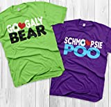 Googaly Bear Schmoopsie Poo Mike and Celia Matching Shirts Monsters inc shirts Vacation Shirts Couples
