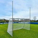 FORZA Steel42 Combinaison Poteaux de Rugby et Football (Variété de Tailles Disponible) [Net World Sports] (3m x 1,8m)