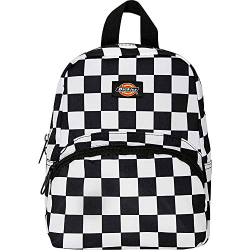 Dickies Mini Mini Festival Backpack (Black/White Checkerboard)