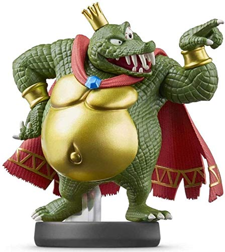 Yubingqin Super Smash Bros. King K.Rool Figurine!Série Super Smash Bros. Série Action Figure de Jeu Chef-d'œuvre Collectible Figure de Collection de Japan Import (Wii U / 3DS / Switch)