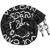 VULCAN Security Chain - Premium Case-Hardened - 3/8 Inch x 9 Foot Chain Cannot Be Cut with Bolt Cutters or Hand Tools