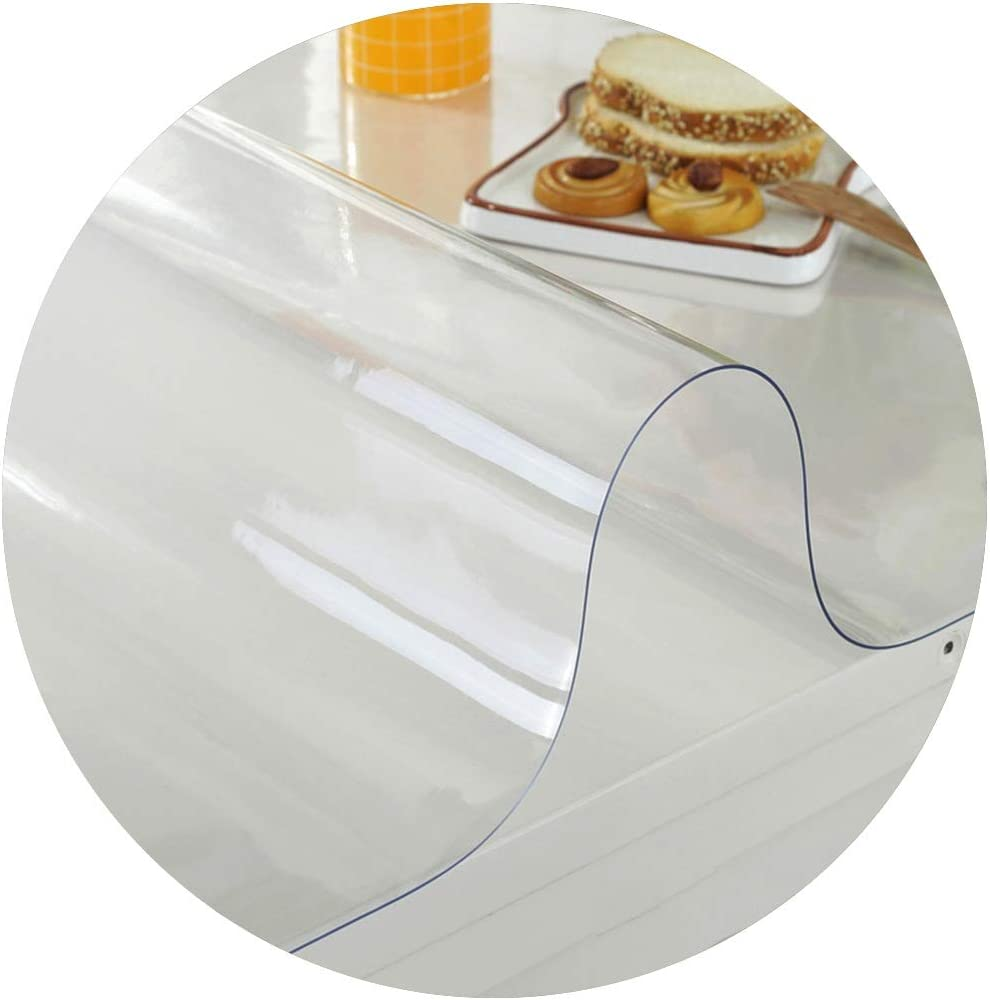 FCZBHT PVC Plastic Rare Tablecloth,Protector Desk Pad Grade High Od Inventory cleanup selling sale