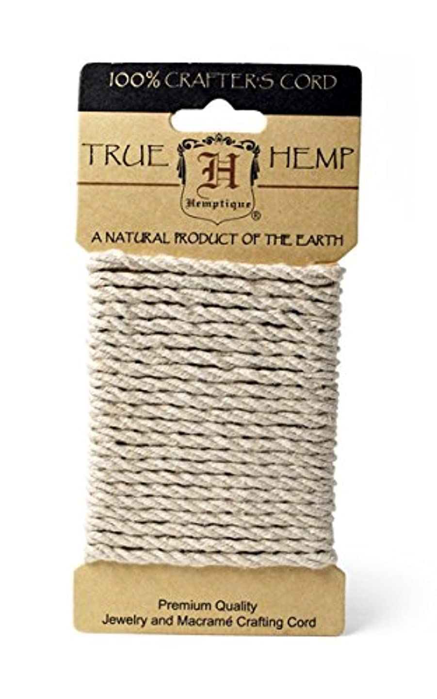 Hemp Rope 4mm 9.84 Feet/Pkg-Natural