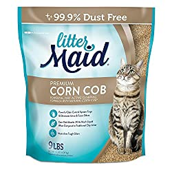 LitterMaid Premium Clumping Cat Litter Corn Cob