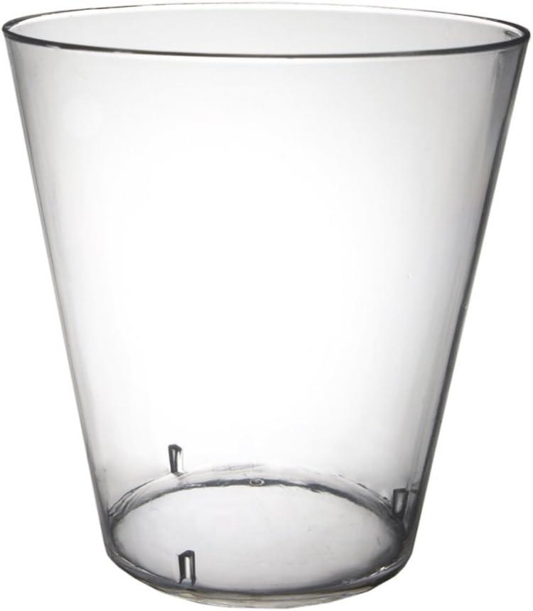 Shot Glasses Durable Plastic Clear Pkg 50 3 2oz. pkg Finally Import popular brand