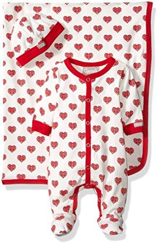 Coccoli Baby Double Knit Cotton Footie  Cap  Blanket