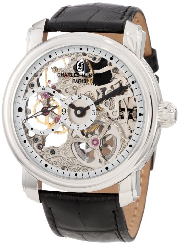 Charles-Hubert, Paris Men's 3874 Premium Collection Stainless Steel Mechanical Watch