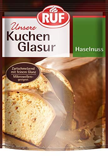 RUF Glasur Haselnuss,16er Pack (16 x 100 g)
