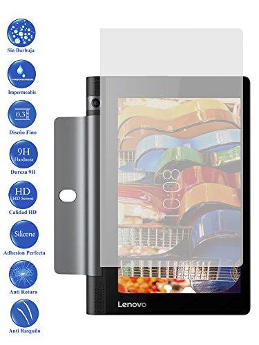 Todotumovil Protector de Pantalla Lenovo Yoga 3 Tab 3 8.0 850L de Cristal Templado Vidrio 9H para Tablet
