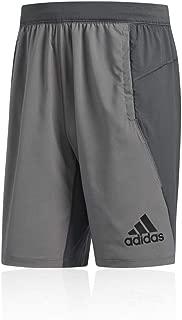 Adidas Men's 4KRFT Woven 10-inch Shorts, Grey (Grey Four F17/grey Six), Medium