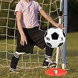 Cerlingwee Discos Planos de fútbol, letreros de Discos de fútbol de Buena tenacidad, marcadores de Disco Plano de fútbol 10 Piezas Estacionamiento de monopatín para Patinaje de fútbol