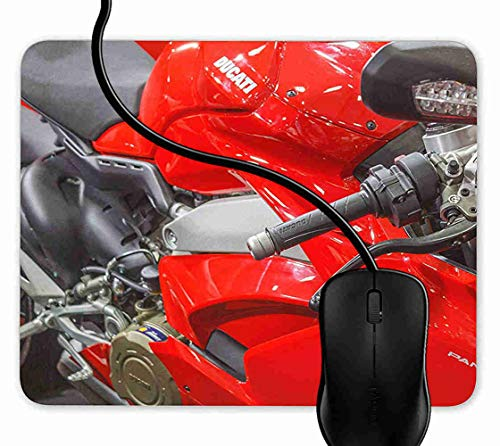 Mauspad Rotes Sport-Fahrrad Rutschfeste Gummi Basis Mouse pad, Gaming mauspad für Laptop, Computer 1F2086