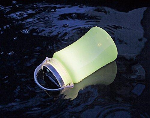 キャプテンスタッグ(CAPTAINSTAG)キャンプランタンライトフローティングLEDランタンtypeIIソーラー&USB充電式ブルーUK-4045