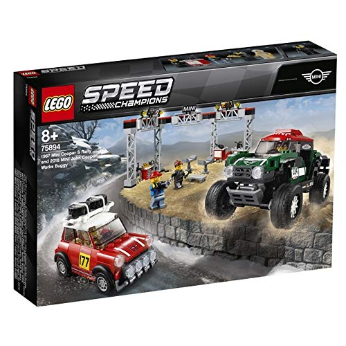 Unbekannt Lego® Speed Champions Mini Cooper S & Buggy Mini JCW