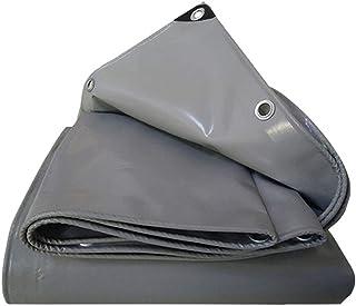 ZIYEYE レインクロス レインシールドシェードターポリン|PVC取り囲むブロック日焼け止めシェード鵬庭保護フード|アウトドアキャンプ閉塞ボード防水布家具カバー層 (Size : 2X4M)