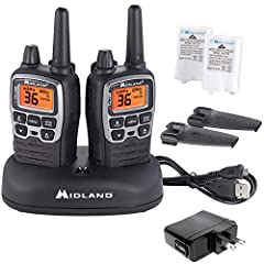 2-WAY RADIOS - These license-free walkie-talkies feature 36 FRS/GMRS (Family Radio Service) channels, along with channel scan to check for activity. 38-MILE RANGE - Longer range communication in open areas with little or no obstruction. 121 CTCSS PRI...