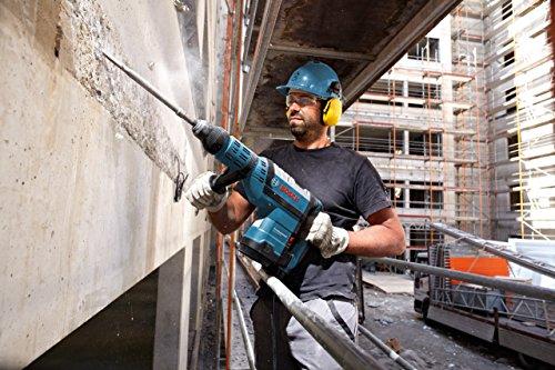 Bosch Professional Bohrhammer GBH 8-45 DV (1.500 Watt, Bohr-Ø in Beton mit Hammerbohrern: 12-45 mm, Schlagenergie max.: 12,5 J, SDS-max., inkl. Fetttube, Zusatzhandgriff, Koffer)