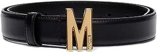 Luxury Fashion | Moschino Womens A801580062555 Black Belt | Season Permanent