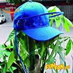 FUN FAN LINE - Gorra de béisbol con Pantalla o máscara Facial Protectora Transparente para Mayor Seg... #4