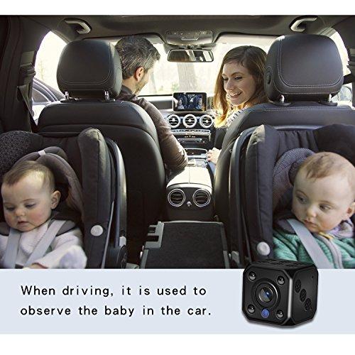 Mini Spy Camera,Wireless wifi Hidden Cameras 1080P HD Nanny Camera Video Recorder Indoor Hidden Surveillance Cam with Auto Night Vision for Home,Office Security