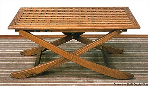 ARC Opvouwbare teakhouten tafel 125x80 cm
