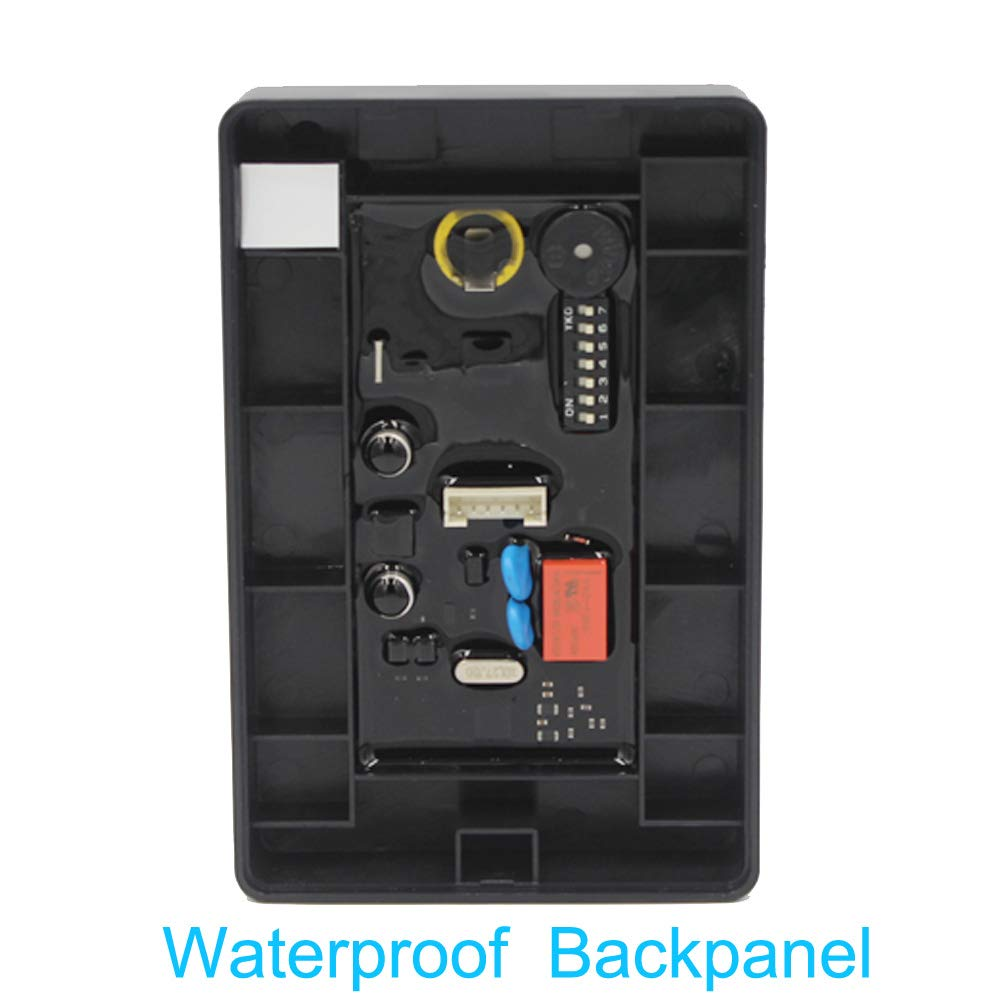 IC Version Access Control and 10 Color Keys BSTUOKEY Waterproof 13.56Mhz MF Access Control Mfire Card Access Control Reader Outdoor Access Control System No keypad 15000 Users