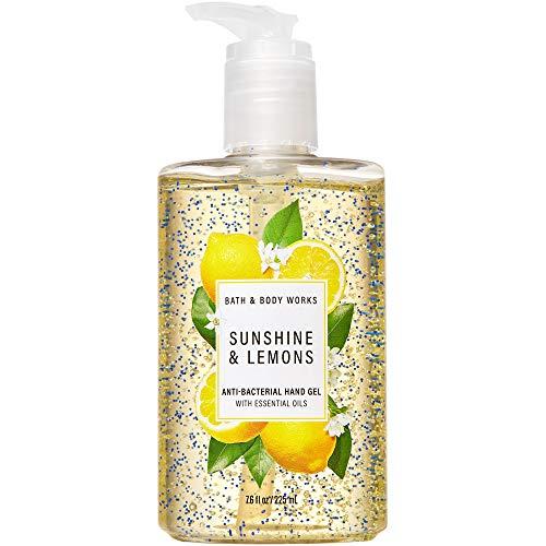 Bath & Body Works SUNSHINE & LEMONS Hand Sanitizer 7.6 Fluid Ounce (2020 Edition)