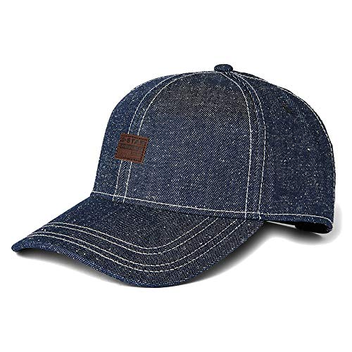 G-STAR RAW Mens Originals Plus Baseball Cap, raw Denim C665-001, One Size fits All
