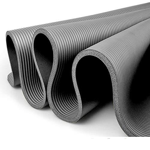 Gloop XXL Yogamatte Pilates Gymnastikmatte trainingsmatte Fitnessmatte,Premium inkl Tragegurt, ideal für Pilates, Gymnastik und Yoga