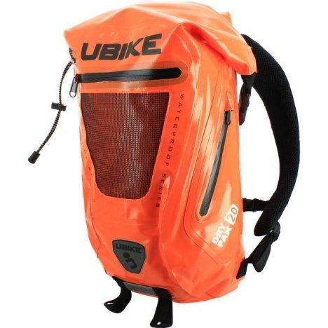 UBIKE Easy Pack+ - Mochila impermeable, color naranja, tamaño talla única